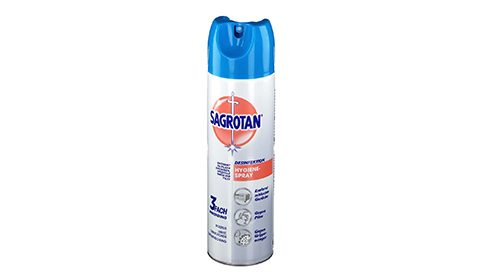 Sagrotan Desinfektion-Hygienespray   500 ml       4,75 €