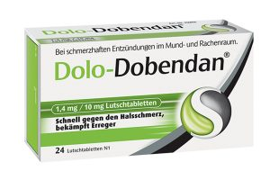 Dolo-Dobendan Lutschtabletten 24 St.  7,95€