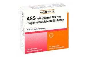 ASS-ratiopharm protect 100 mg    100 St.   2,75 €