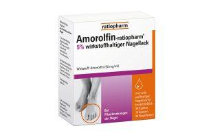 Amorolfin-ratiopharm Nagellack gegen Nagelpilz   3 ml        22,50 €