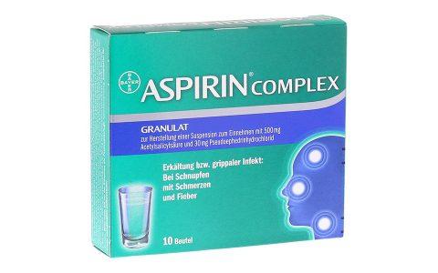 Aspirin complex   Beutel 10 ST.     6,95 €