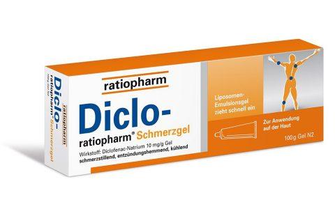 Diclo ratiopharm Schmerzgel 100 g  7,50 €