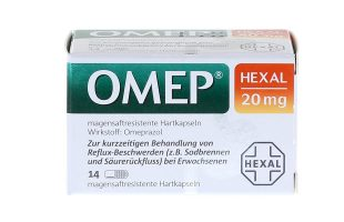 Omep Hexal 20 mg 14 Kps.    8,95 €