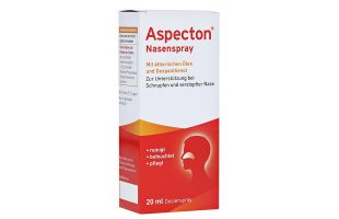Aspecton Nasenspray 1,1% 20 ml   4,95 €