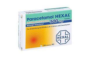 Paracetamol Hexal  Tbl. 20 St.      1,65 €