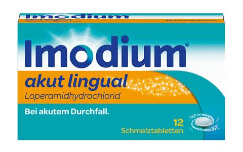 Imodium akut lingual Schmelztbl.   12 St.     8,75 €