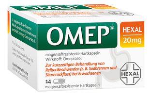 Omep Hexal Kps.  14 St.    8,95 €