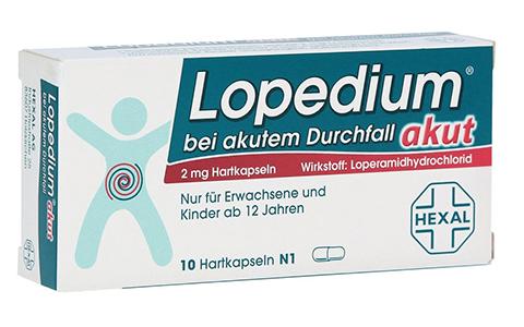 Lopedium akut Kapseln   10 St.      2,95 €