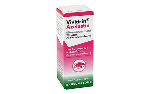 Vividrin Azelastin Augentropfen   6 ml   9,25 €