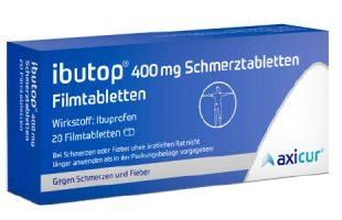 Ibutop 400 mg Schmerztabletten      2,95 €