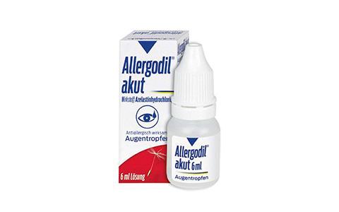 Allergodil akut Augentropfen       6 ml    9,95 €